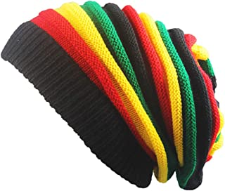 Women Men Knitting Beanie Wool Baggy Oversize Slouchy Hip-Hop Winter Warm Skull Caps Hats