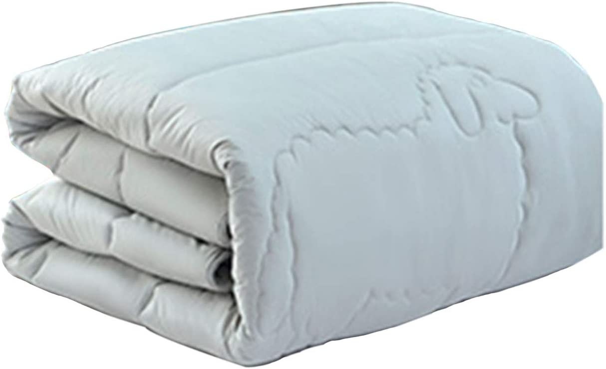 Quilt Cashmere 100% Pure Wool 10 Max 55% OFF Warm Over item handling ☆ Comfortable Thickened Keep