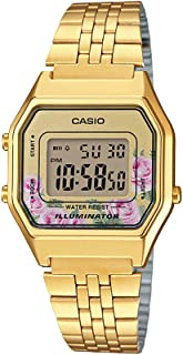Casio Women's Dial Stainless Steel Band Watch, For Unisex