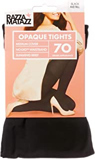 Razzamatazz Women's Pantyhose 70 Denier Slim Matte Opaque Tights