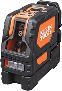 Klein Tools 93LCLS Laser Level, Cross Line Level with Plumb Spot, Leveler Tool with..