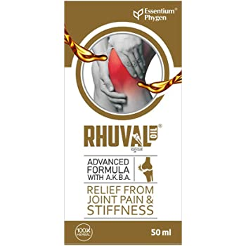 Essentium Phygen Rhuval Oil For Instant Pain Relief, 50 ml