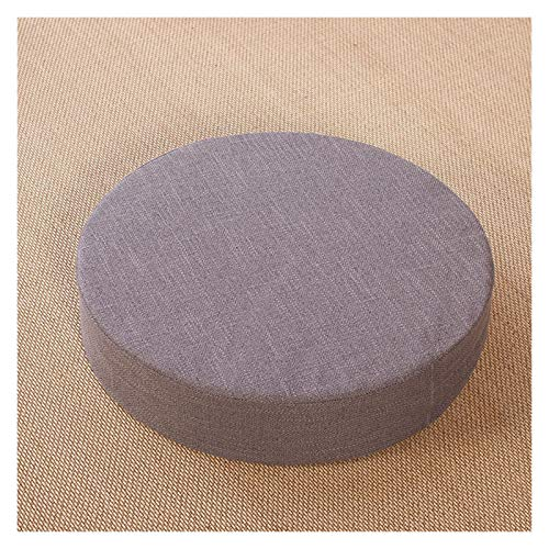 Cojín silla Ropa De Cama Cojín Espesar Meditación Mat Tela Cojín De Meditación Piso Throw Cushion (Color : Gray, Specification : 40x6cm)