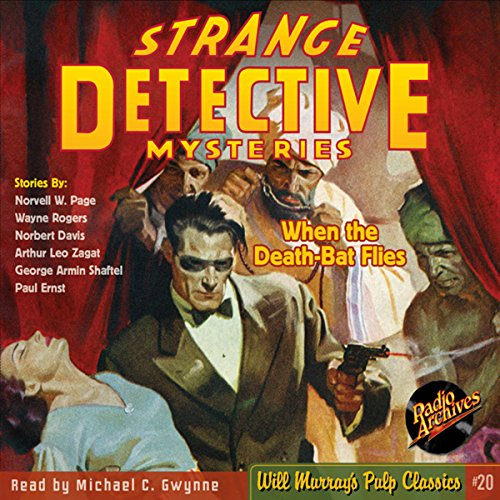 Strange Detective Mysteries 1, October 1937 cover art