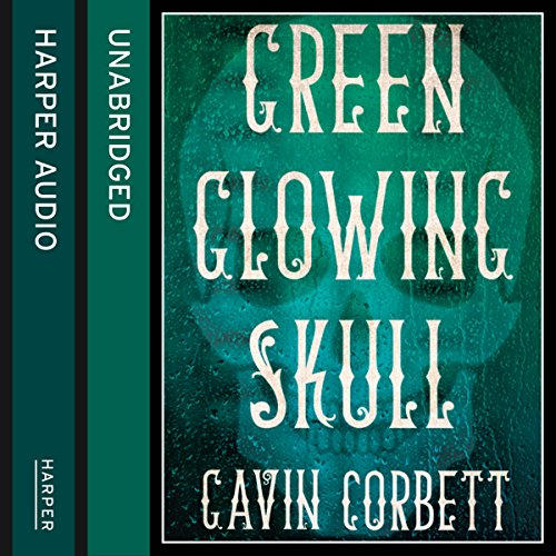 Green Glowing Skull audiobook cover art