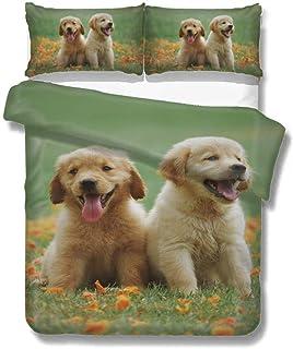 Amazon Com Golden Retriever Bedding