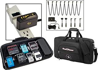 Road Runner Pedal Board with Bag and Visual Sound 1 Spot Combo Pack