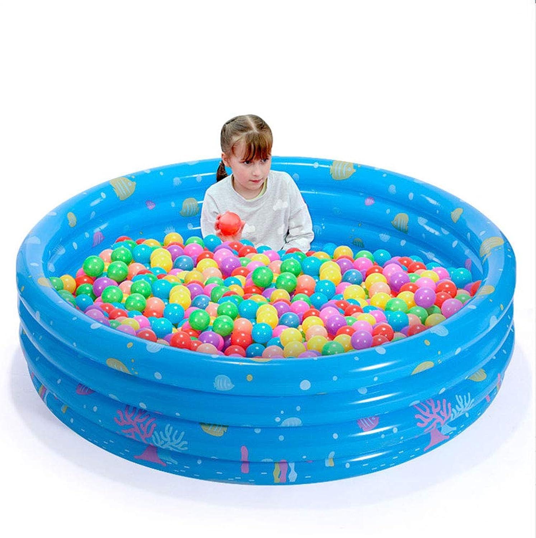 YUHAO(uk) Inflatable Kiddie Pool - Kids Inflatable Rectangular Pool(146x38cm)