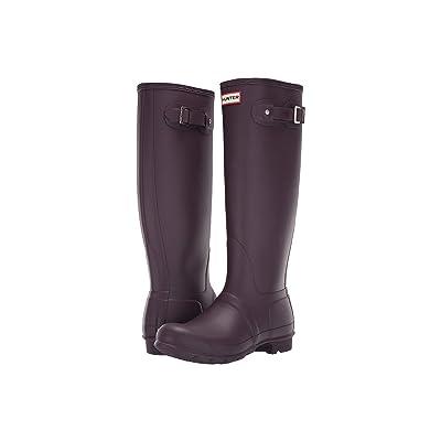 Hunter Original Tall Rain Boots (Black Grape) Women