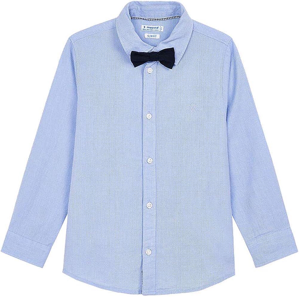 Mayoral - L/s Shirt for Boys - 4139, Lightblue