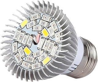 Uonlytech Plant Light Bulb Full Spectrum E14-28SMD LED Grow Light Growing Lamp for Indoor Outdoor Plants