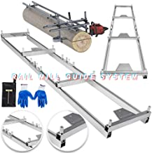 TBvechi Rail Mill Guide System Milling Rail System Chainsaw Mill Guide Set Ladder Commercial