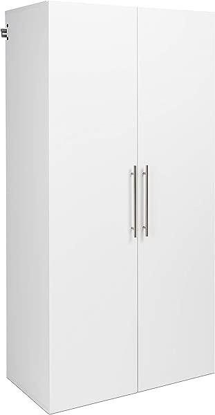 Prepac 36 Large HangUps Storage Cabinet White