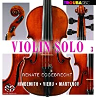 Violin Solo Vol.3: Sonate G-Moll Op