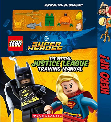 The Official Justice League Training Manual (LEGO DC Comics Super Heroes)