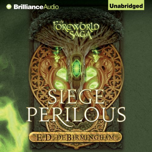 Siege Perilous audiobook cover art