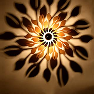 QSM Moderne minimalistische Innenwand-Leuchte, Art kreativer Peronality-Schlafzimmer-Fernsehwand-Lampe Bedide führte energiesparende Wand-Lampen-Lesungs-Wand-Lampe, Schwarzes, Hintergrund-Wand-Beleuc B07HVZ2N23  Förderung