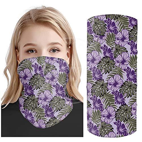 Paars schilderij Outdoor sport zachte magie Bandana hoge elasticiteit recyclebare UV-bescherming duurzame sjaal joker hoofddoek