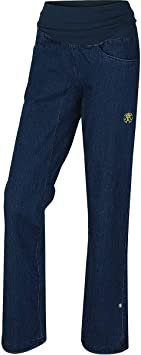 Rafiki Etnia Jeans II Pantalón para mujer, azul, EU 36 ...