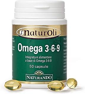 Naturando - Omega 3-6-9 50 Softgel Complemento Alimenticio A Base