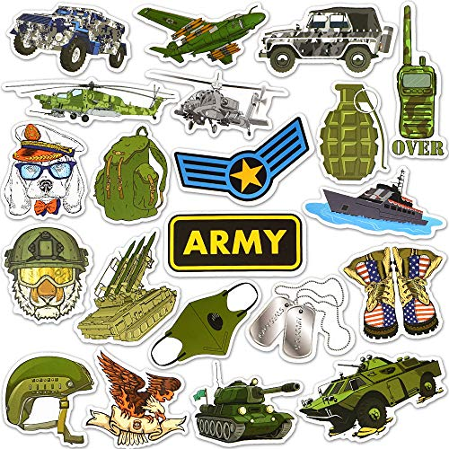 Military Stickers and Decals Army Stickers Military Helmet Stickers Tactical Stickers for Hard Hat Waterproof Stickers(50 Pcs)