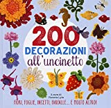 200 decorazioni all'uncinetto