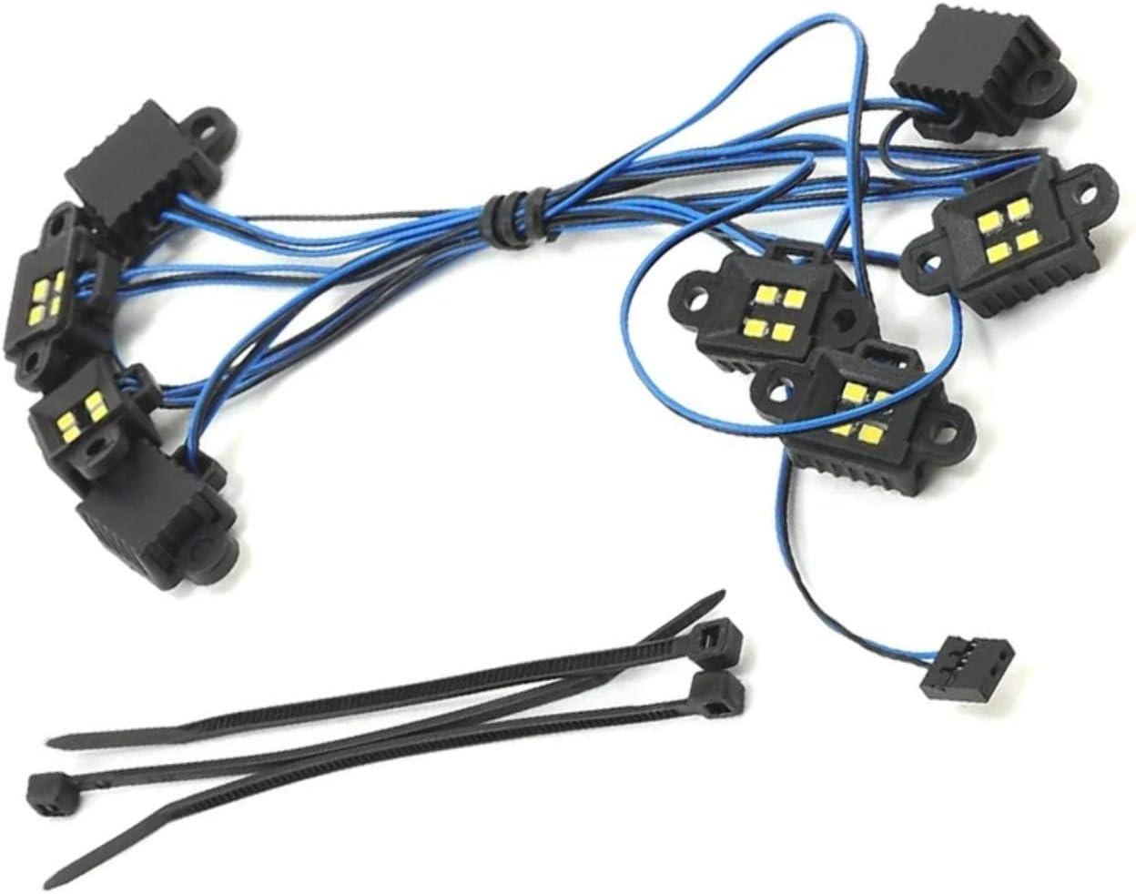 Traxxas 8026X LED Rock Light Kit and TRX-4 Req #8018 Choice #8 Ranking TOP8 #8028