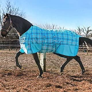 Horze Dakota Custom Plaid 1200 Denier Turnout Sheet - Belly Wrap