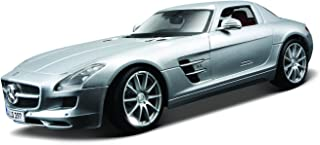 Maisto 1:18 Scale Mercedes-Benz SLS AMG Diecast Vehicle (Colors May Vary)