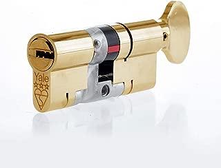 Yale P-YS3-4040BT Platinum 3STAR THUMBTURN 40/40 (80MM) Brass