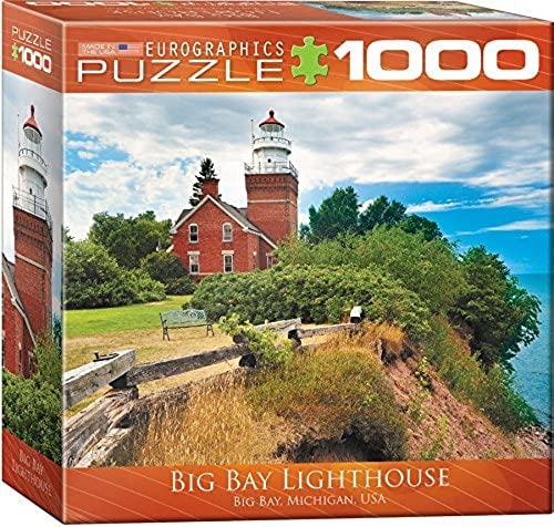 EuroGraphics Big Bay Lighthouse Jigsaw Puzzle (1000-Piece) by EuroGraphics