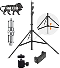 HOJI® 9 Feet Big Digital Camera Camcorder Tripod Mount Stand for All Android & iOS Smartphone DSLR, Camera with I Ball Att...