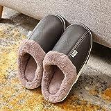 B/H Erwachsene Plüsch Hausschuhe Winter,Paare nach Hause Einrichtung Flusen Hausschuhe,einfache...