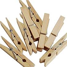 Lot de 50 pinces /à linge/ Pack Bois /20682 2 marron