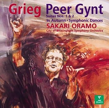Grieg : Peer Gynt Suites 1, 2 & Symphonic Dances