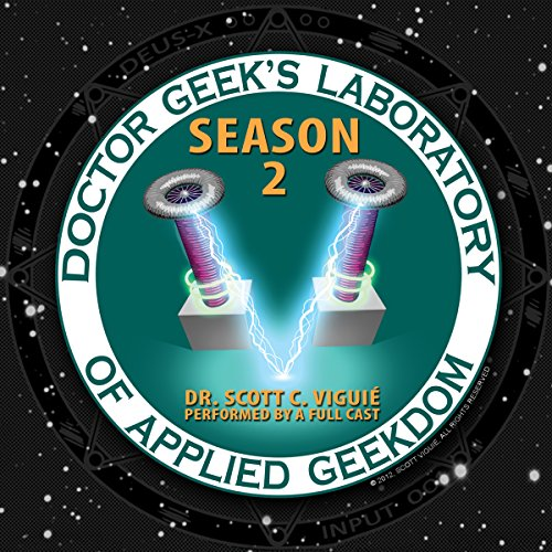 Doctor Geek's Laboratory, Season 2 audiobook cover art
