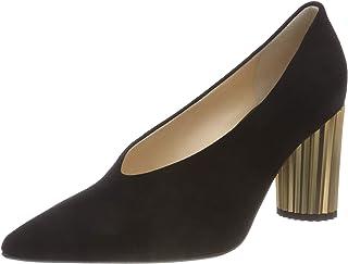 tienda de ventas outlet Hgl 6-10 7512 Dory Alto Alto Alto Talón Negro Zapatos De Corte De Ante  todos los bienes son especiales