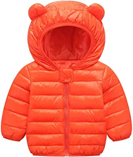 2ad144215c0 Ancia Jolly Winter Coats for Kids with Hoods Light Puffer Jacket for Baby  Boys Girls,