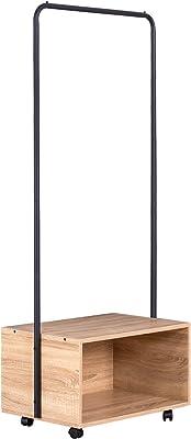Perchero de pie clásico Beige de Metal de 178 cm - LOLAhome ...
