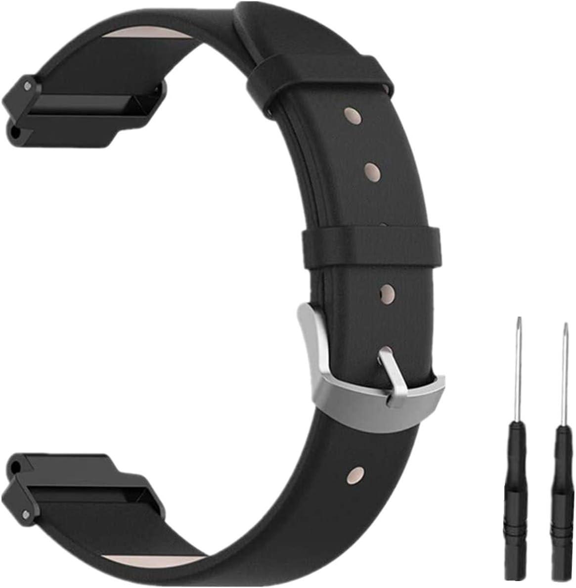 Meiruo Leder Ersatz Uhrenarmband Watch Band Armband Für Garmin Forerunner 220 235 630 620 735 Colour 1 Sport Freizeit