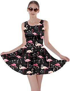 black flamingo dress
