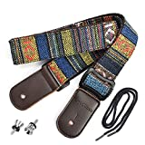 CLOUDMUSIC Ukulele Strap National Ethnice Pattern For Soprano, Concert, Tenor, Baritone, Guitarlele
