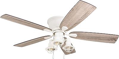 Prominence Home 51153-01 Romero Ceiling Fan, 52, White