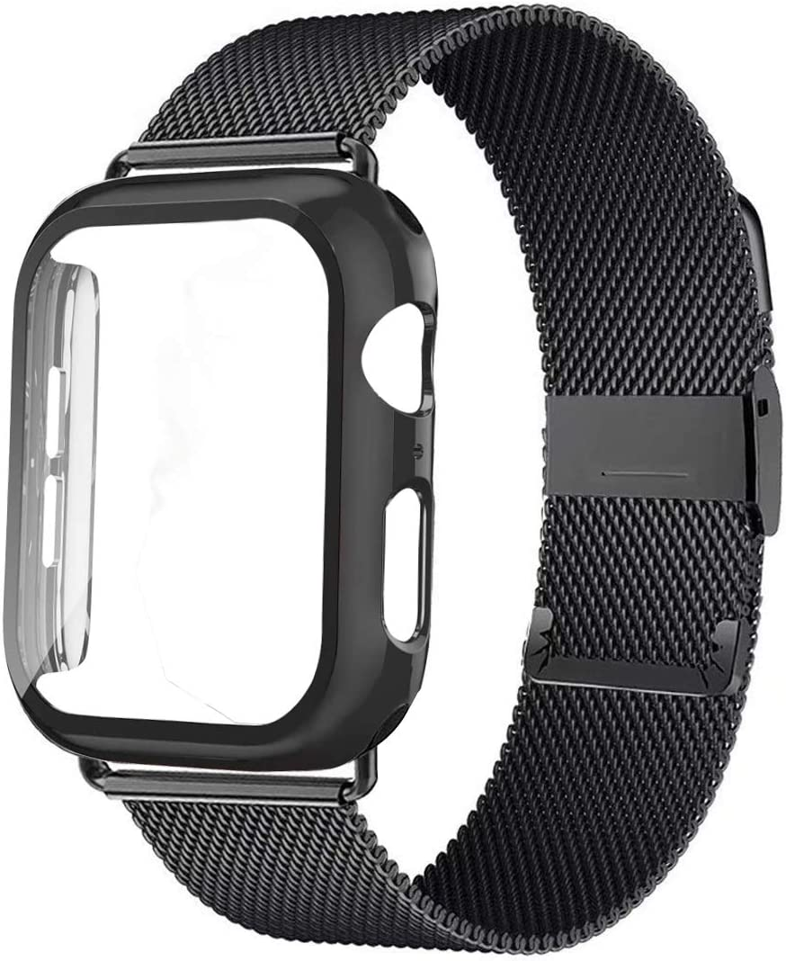 XYSCFF Glass+Case+Strap for Watch Band Super sale Rare 44mm 42mm Acces 40mm 38mm