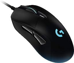 Logitech G403 Hero Wired Gaming Mouse, Hero 16K Sensor, 16000 DPI, RGB Backlit Keys, Adjustable Weights, 6 Programmable Bu...