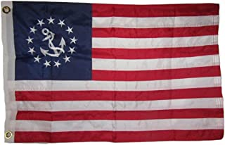 AES 20x30 Embroidered Sewn Nautical Ensign Yacht Naval 300D Nylon Flag 20