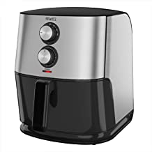 TEWELL Family-Size Air Fryer Oven for Air Frying, Roasting, Reheating and Dehydrating with 6.8-Quart Nonstick Basket, Package for Christmas