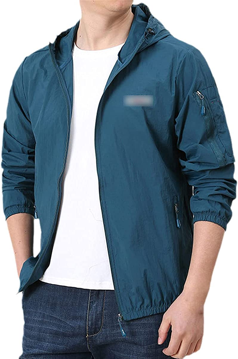 Thin Jacket Men's Summer Outdoor Quick-Drying Sunscreen Jacket Men's And Women's Hooded Jacket