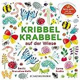 Kribbel Krabbel auf der Wiese: Ein Memospiel mit 30 Klappen