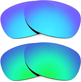 Replacement Lenses for Ray Ban New Wayfarer 52mm RB2132 2 Pair Combo Pack K006